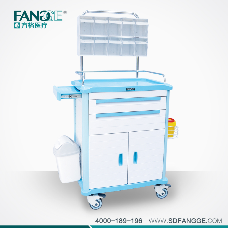 Hospital Anesthesia Cart